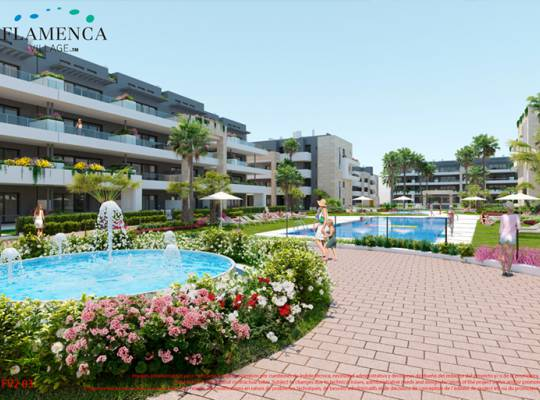 Lägenhet - New Build - Orihuela Costa - Playa Flamenca